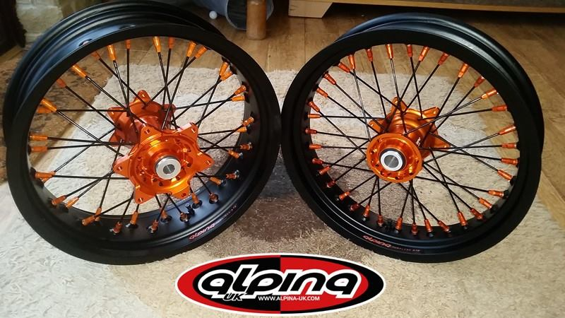Tubeless Spoke Wheels From Alpina Page Ducati Scrambler Forum - Alpina motorcycle wheels