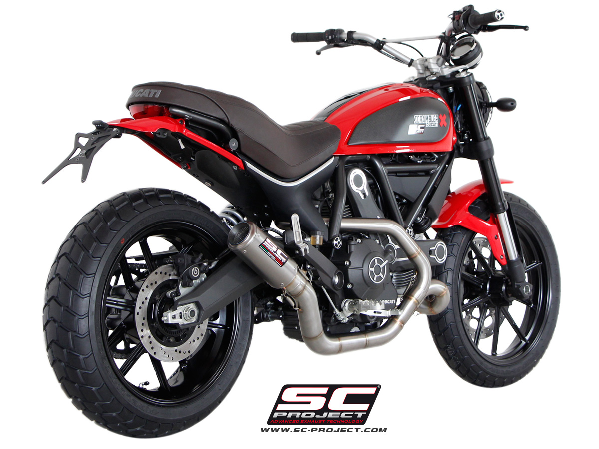 Custom Leovince Gp Exhaust Installed Ducati Scrambler Forum