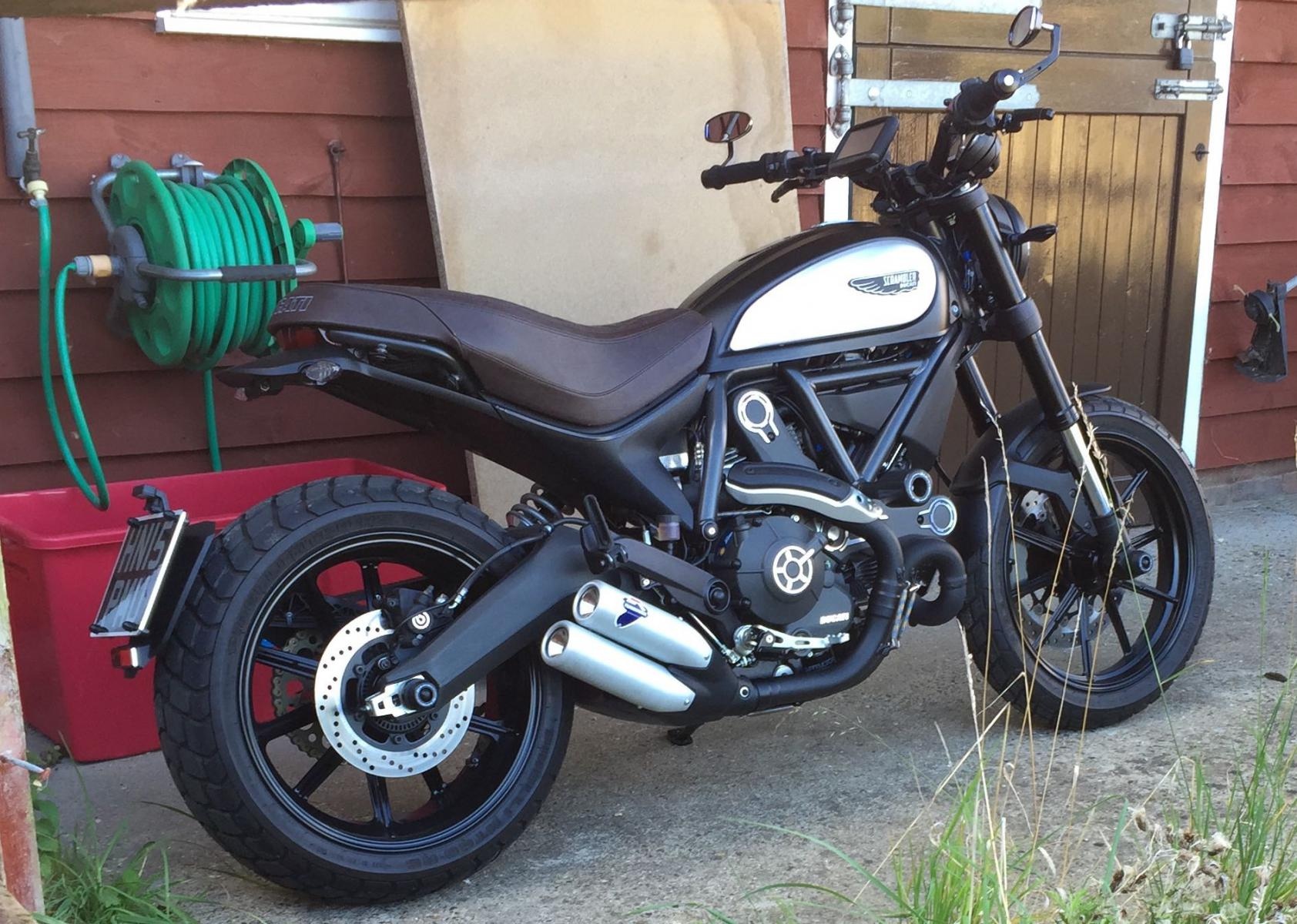 full throttle with a difference ducati scrambler forum. Black Bedroom Furniture Sets. Home Design Ideas