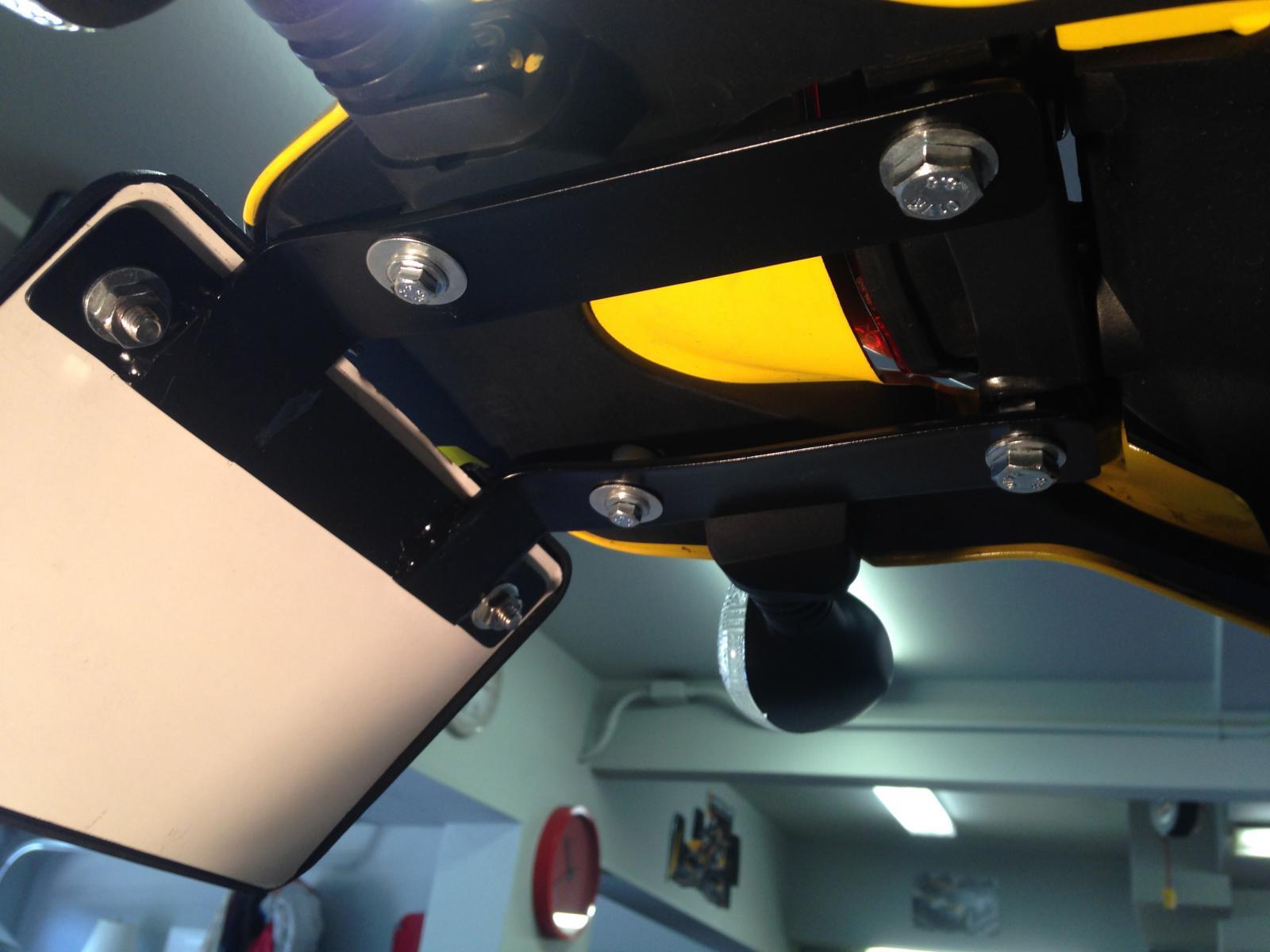 Ducati Scrambler Forum - View Single Post - Tail tidy options??