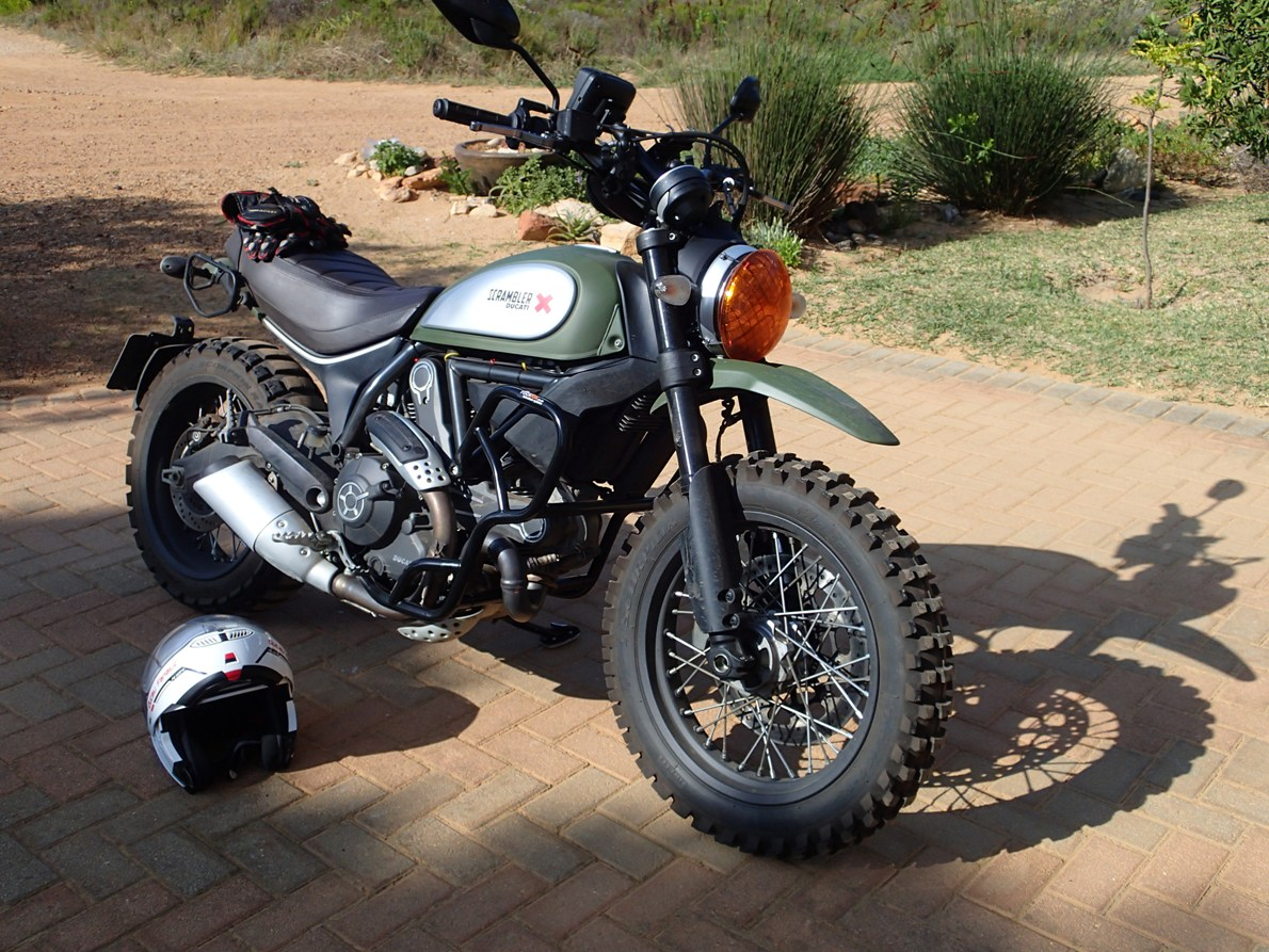 ducati scrambler forum - view single post - custom crash bars 4