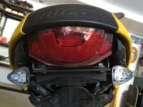 License Plate And Taillight Relocation Kits Ducati